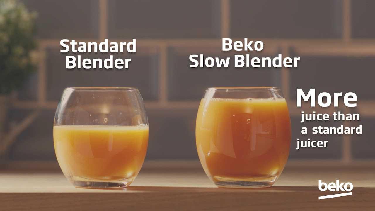 BEKO SJA3209BX SLOW JUICER: un estrattore a freddo rapido e silenzioso
