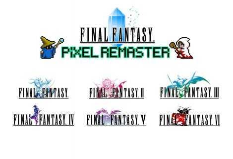 Final Fantasy Pixel Remaster: Square-Enix parla di feature e piattaforme