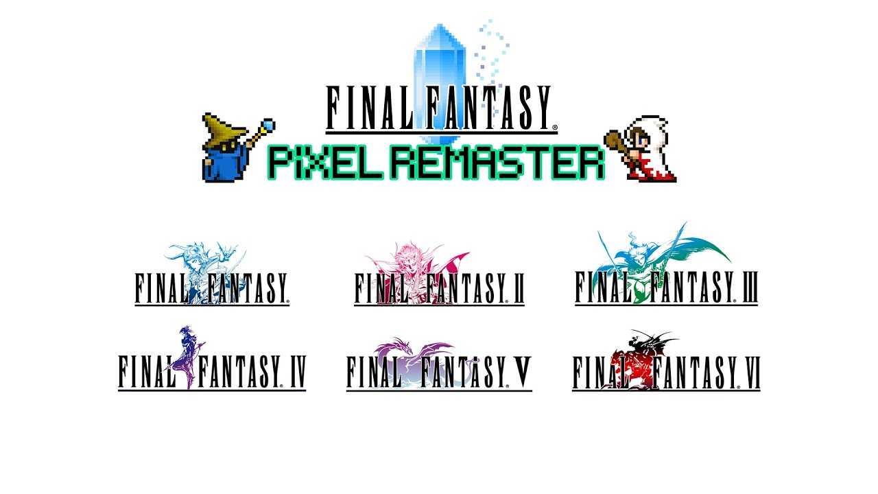Final Fantasy: due titoli della saga saranno rimossi da Steam