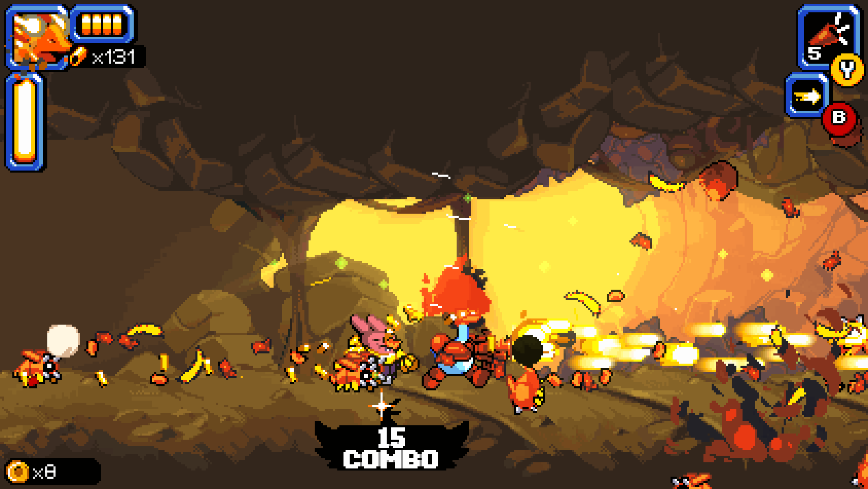 Mighty Goose review: a space goose