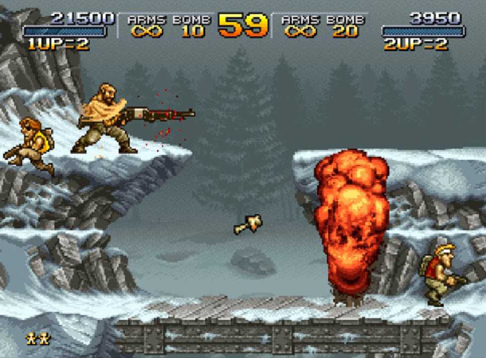 Retrogaming: Metal Slug is the most loved classic title by Italians