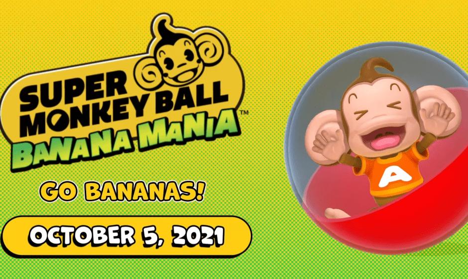 E3 2021: annunciato Super Monkey Ball Banana Mania