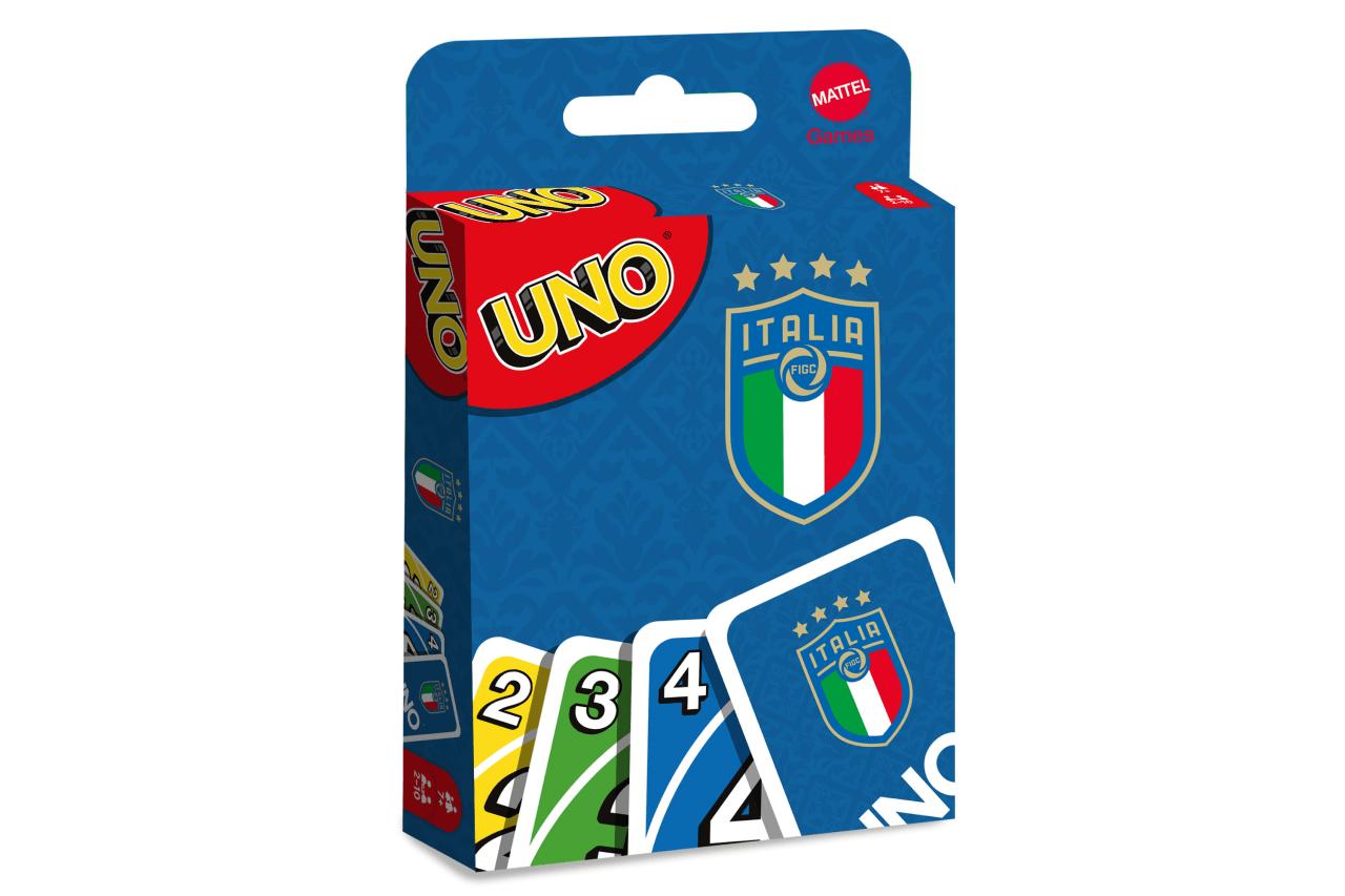 UNO Azzurri: arriva l'edizione speciale Per l'Italia dei record