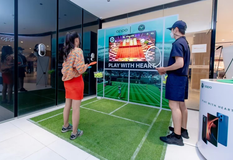 Oppo Wimbledon: the success and return of tennis