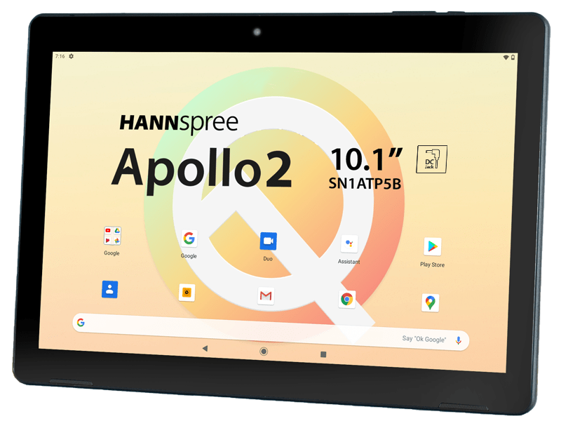 Hannspree Apollo 2: the new tablet PC available