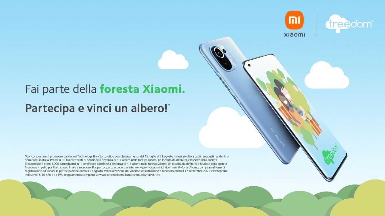 Xiaomi Treedom: il progetto di ecosostenibilità
