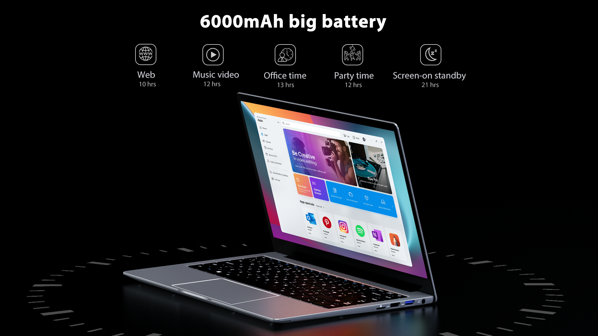 """Blackview: presented the new 14 """"Acebook1 laptop"""