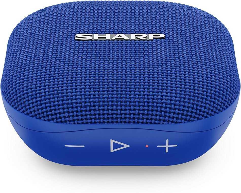 Sharp: presented the new portable speaker GX-BT60
