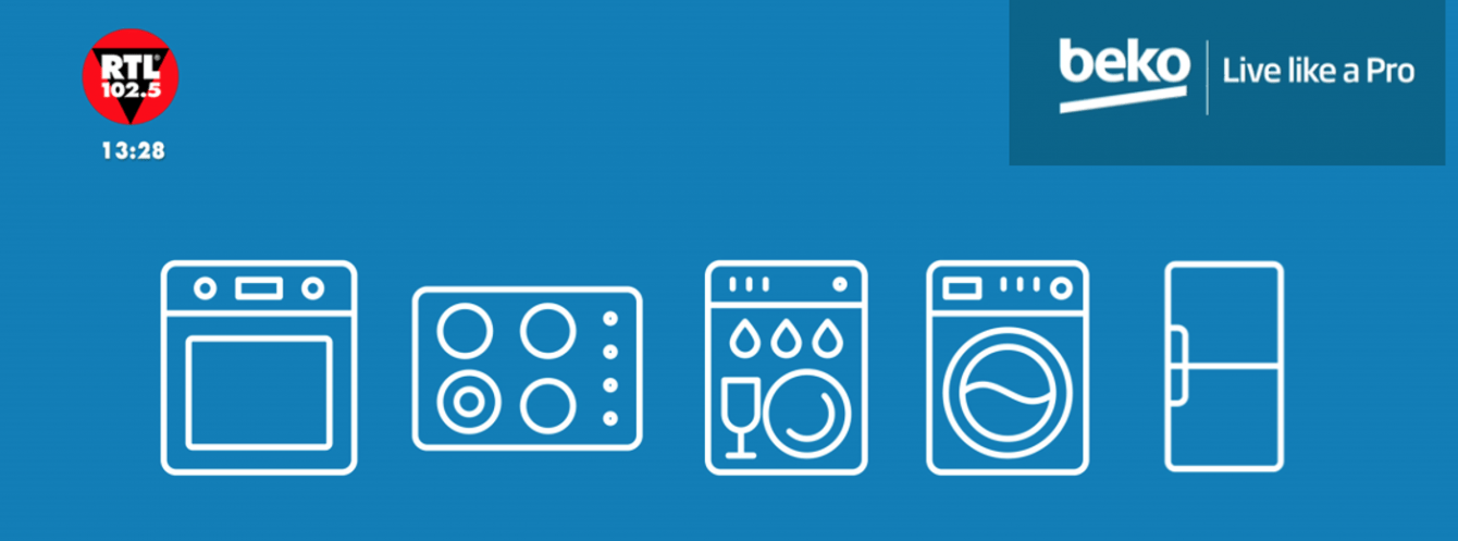 Beko on air: appliances on air on RTL 102.5
