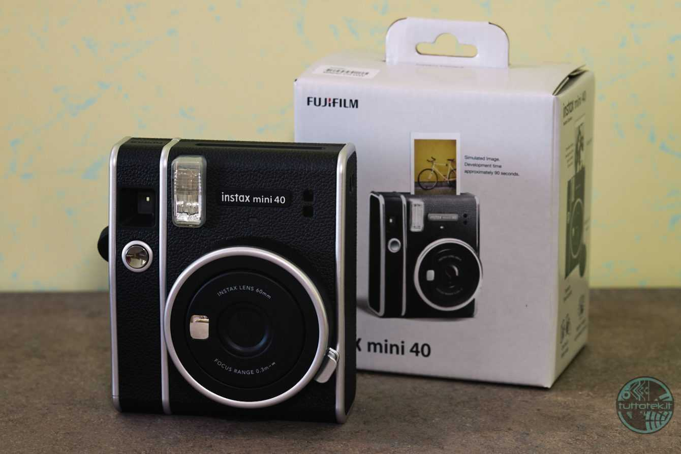 Fujifilm Instax 40 Mini review: analog for everyone
