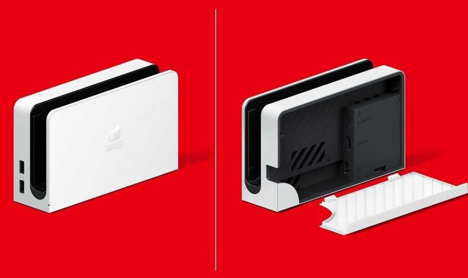 Nintendo Switch OLED: il nuovo dock supporterebbe il 4K