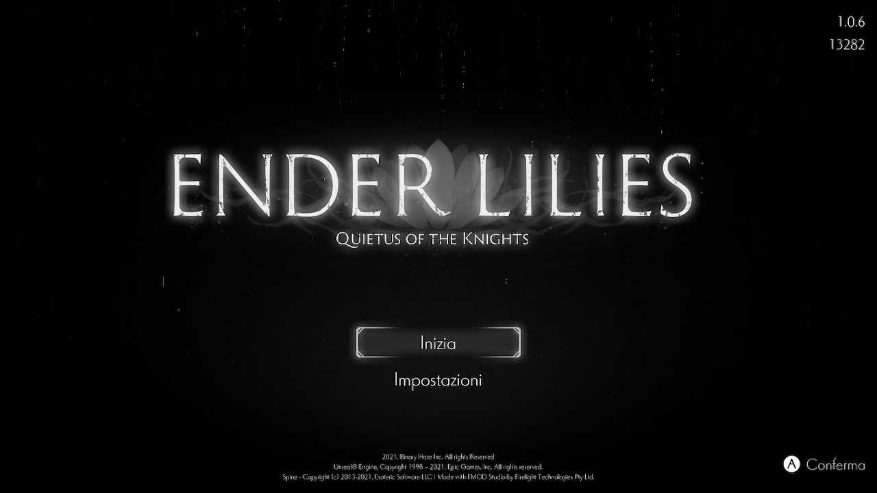 Ender Lilies: Quietus of the Knights, svelata la lista trofei!