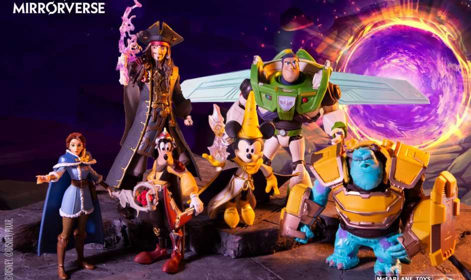 McFarlane Toys debutta con la Disney Mirrorverse Collection