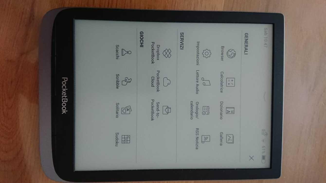 Recensione InkPad 3 Pro: l'e-Reader che non teme schizzi
