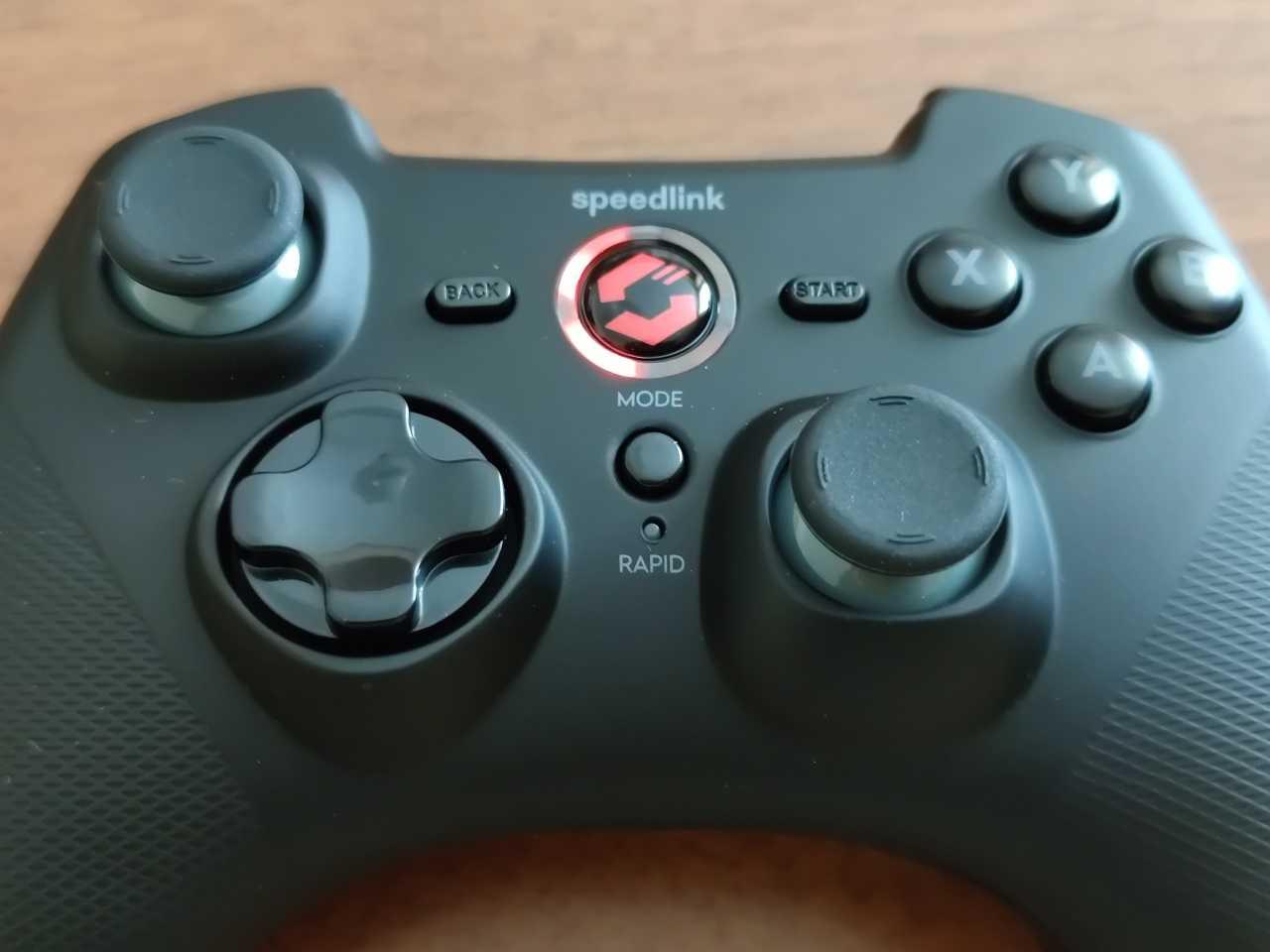 Recensione Speedlink RAID Wireless Gamepad