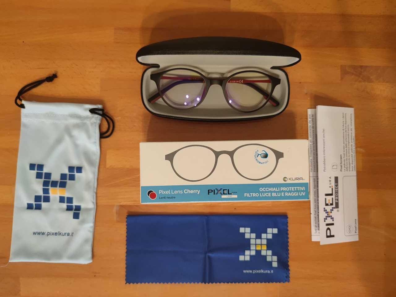 Recensione Pixel Lens by Kura: addio luce blu!