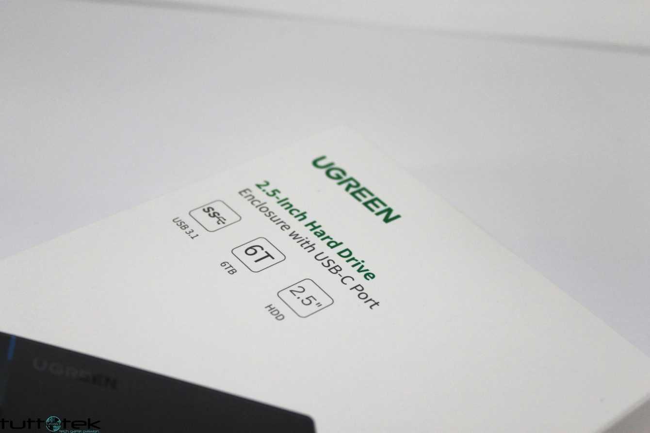 Recensione Ugreen Enclosure Type-C Gen 2: conveniente e performante