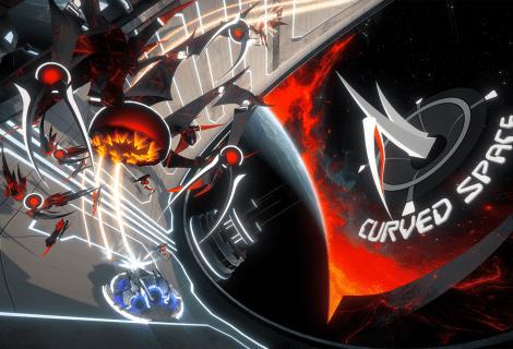 Recensione Curved Space: adrenalina nello spazio