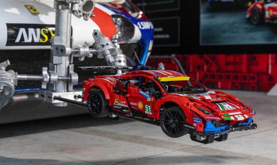 LEGO Ferrari 488 GTE: il primo modello a superare i 200 km/h