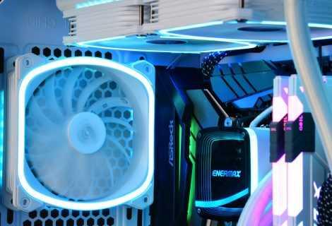 ENERMAX SquA RGB White: arriva il pacco da 3 ventole