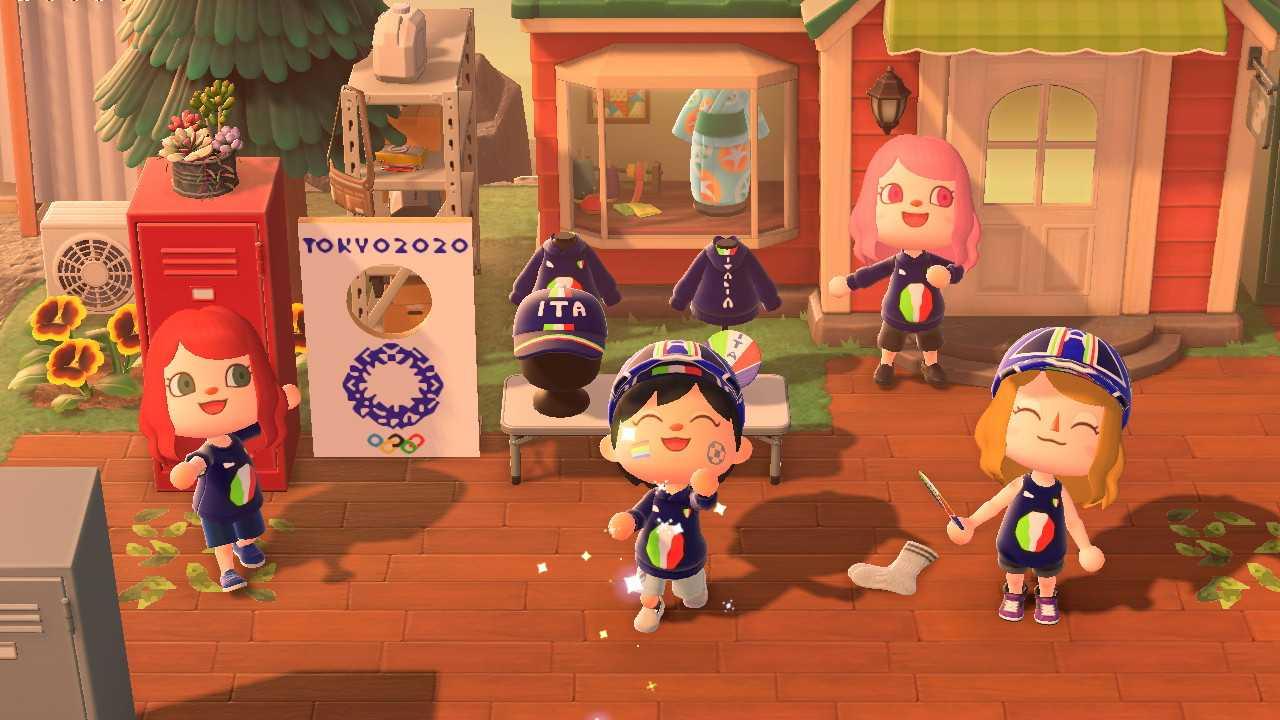Animal Crossing New Horizons: La community italiana celebra l'inizio delle Olimpiadi