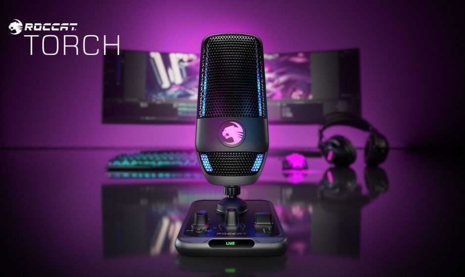 ROCCAT Torch: microfono di qualità per streamer e creator