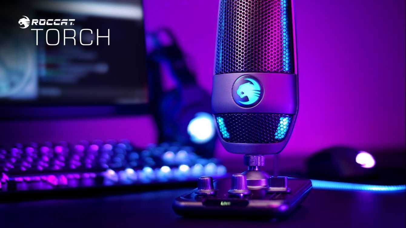 ROCCAT Torch: quality microphone for streamers and creators