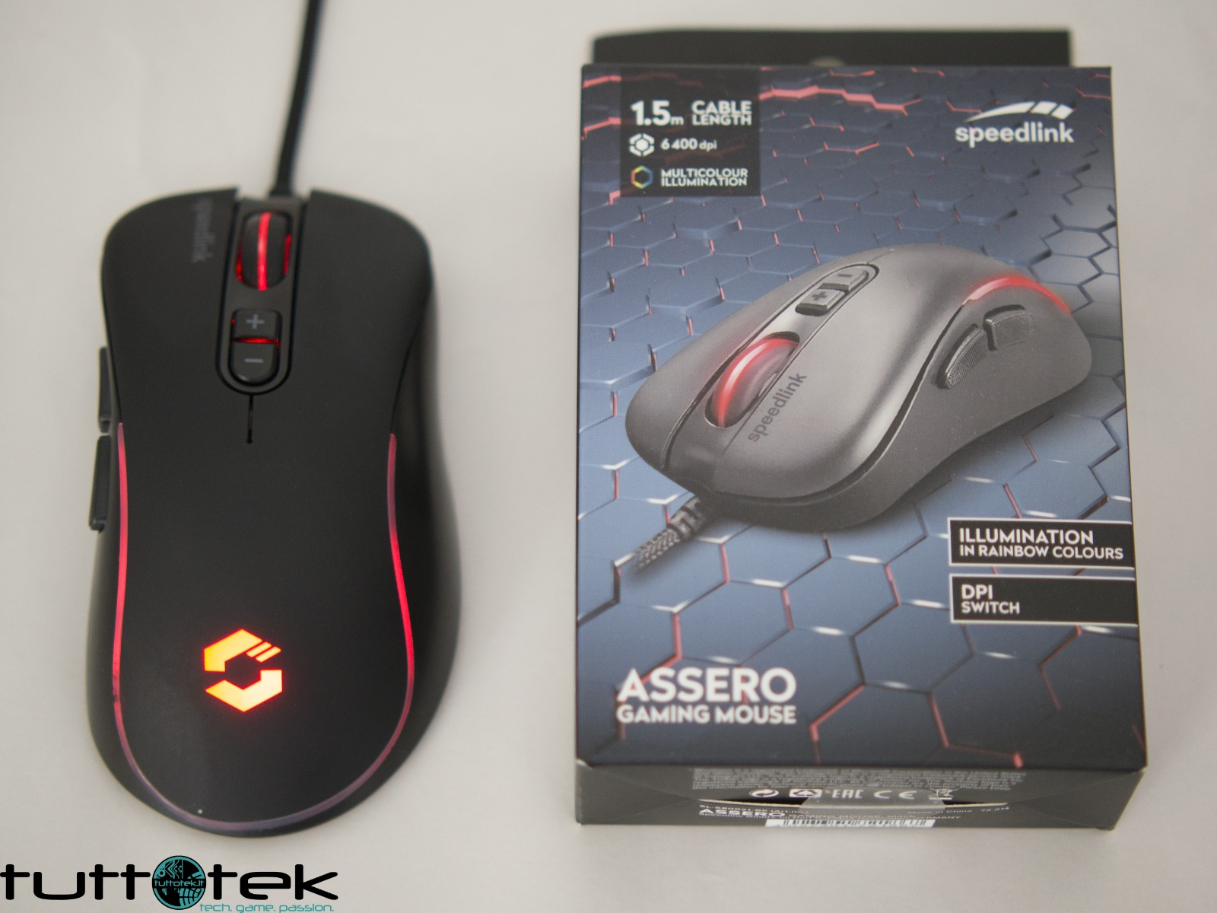 Recensione Speedlink ASSERO Gaming Mouse