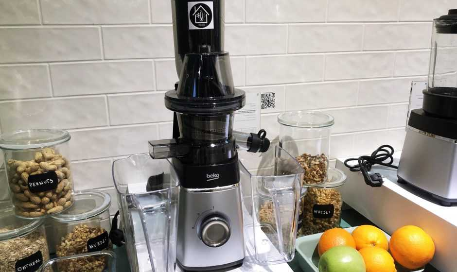 Beko SJA3209BX Slow Juicer: l'estrattore di succo a freddo