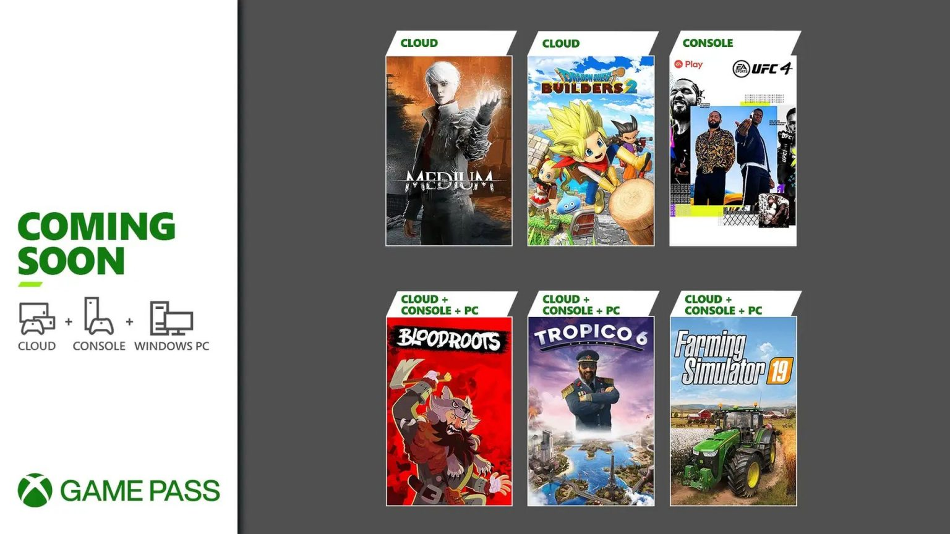 I nuovi giochi per Xbox Game Pass di luglio 2021