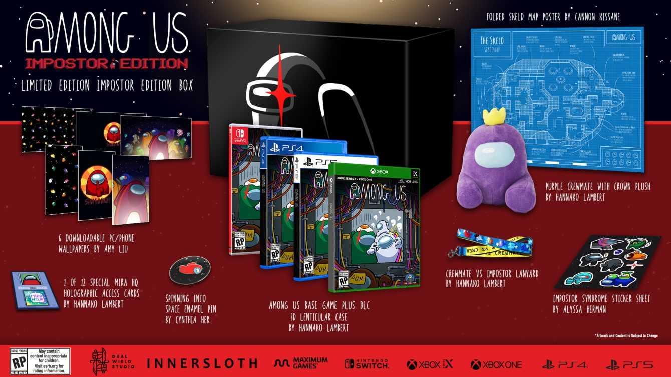 Among Us: il gioco arriverà in edizione speciale su PS5, PS4 Xbox e Switch
