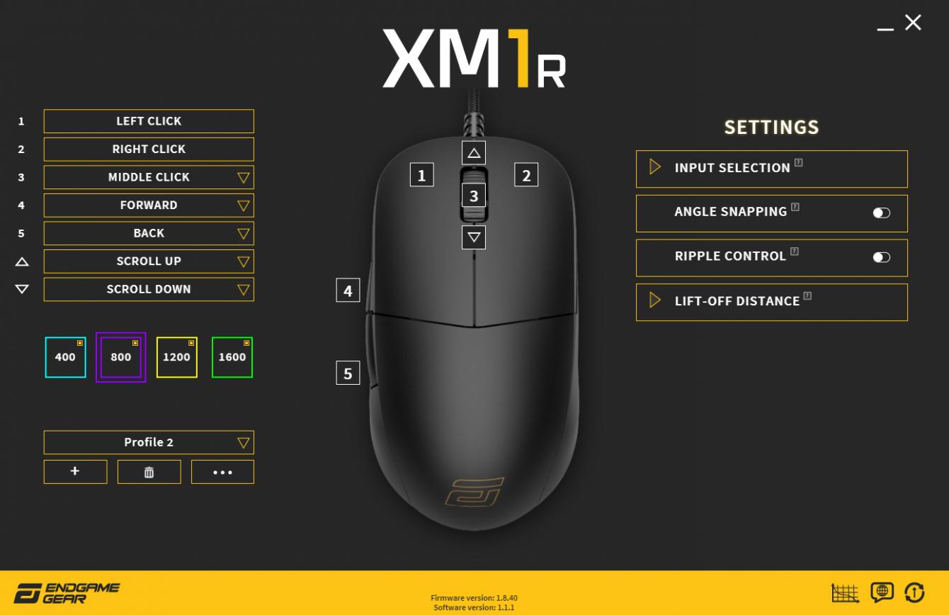 Recensione Endgame Gear XM1r: la perfezione per il Claw Grip?