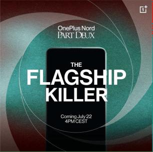 OnePlus Nord 2 5G: presentazione ufficiale domani 22 luglio