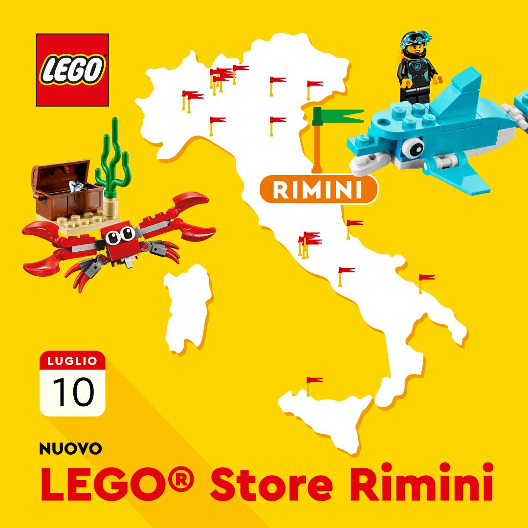 A Rimini arriva il ventesimo LEGO Store Italiano!