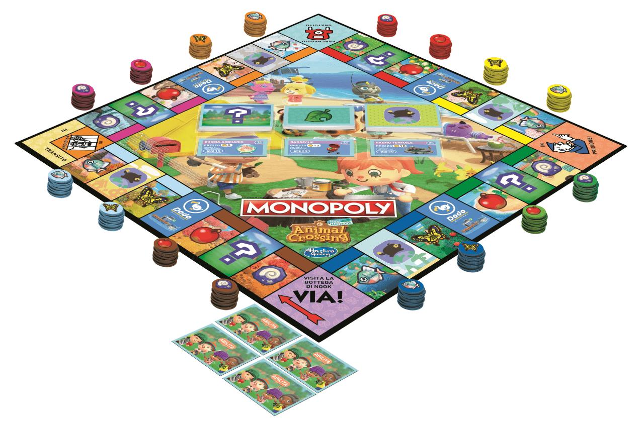 Monopoly: arriva la versione Animal Crossing!