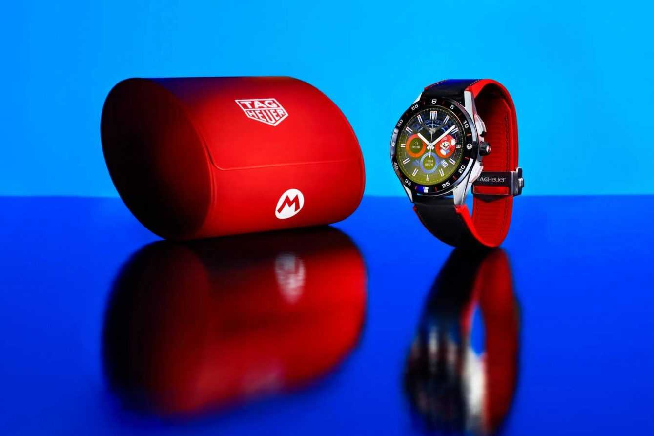 TAG Heuer: Super Mario themed smartwatch presented