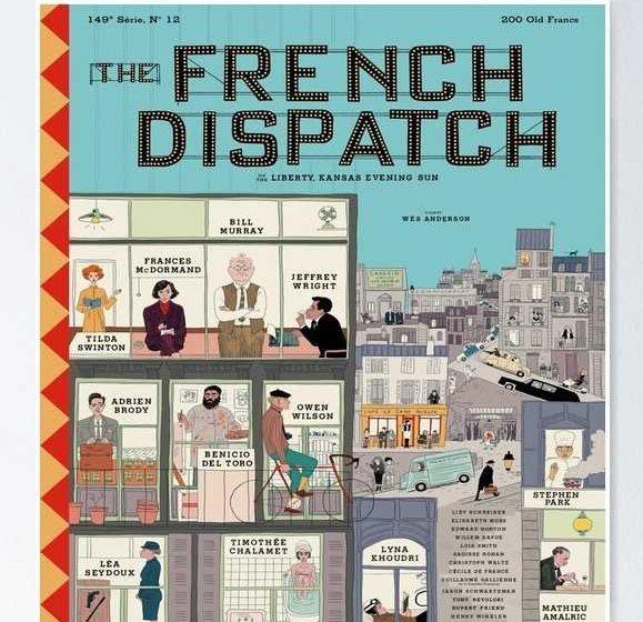 The French Dispatch: trailer e poster del film