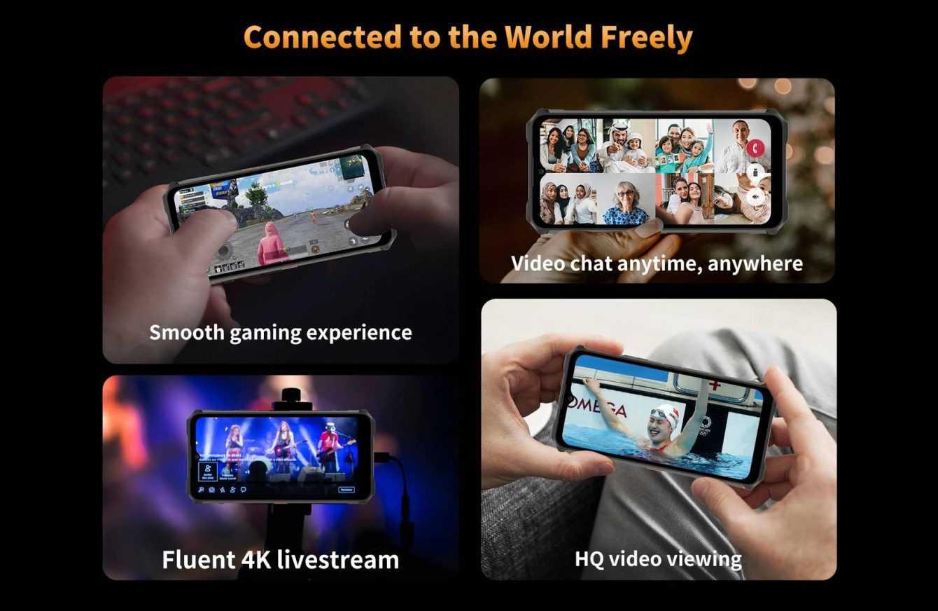 OUKITEL WP13: the best 5G Sim Dual SIM rugged smartphone