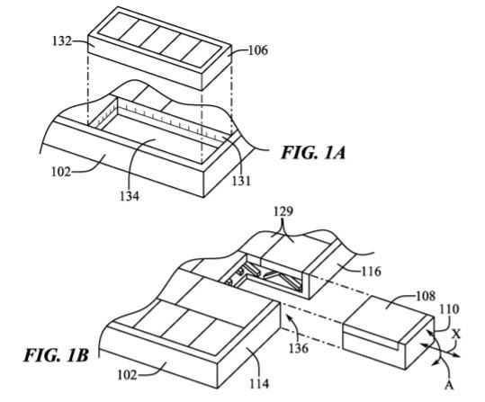 Mouse estraibile dalla tastiera dei MacBook: un nuovo brevetto Apple