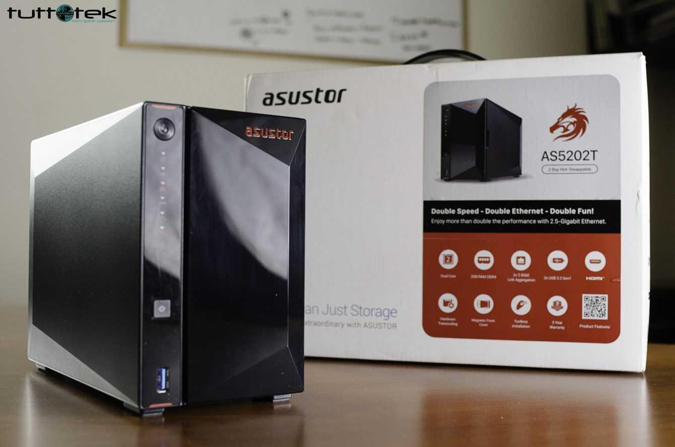 Recensione Asustor Nimbustor 2 (AS5202T): un NAS per domarli tutti