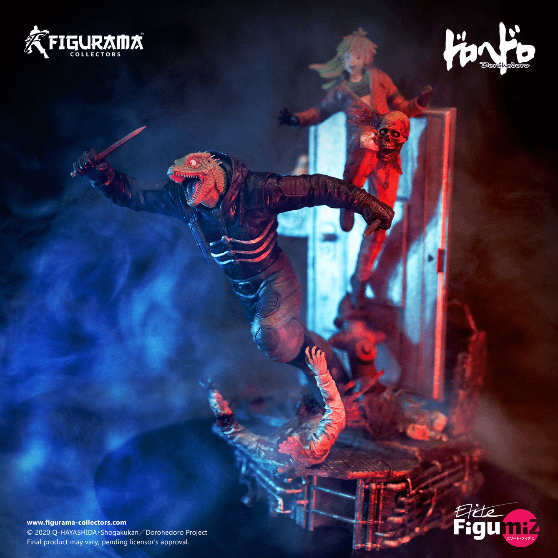 Dorohedoro: Caiman & Nikaido Elite FigumiZ Statue by Figurama apre i preordini