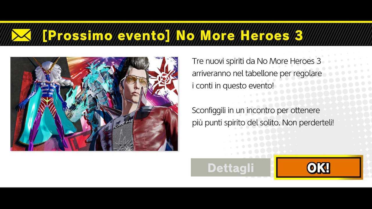 Super Smash Bros Ultimate: Spiriti da No More Heroes 3