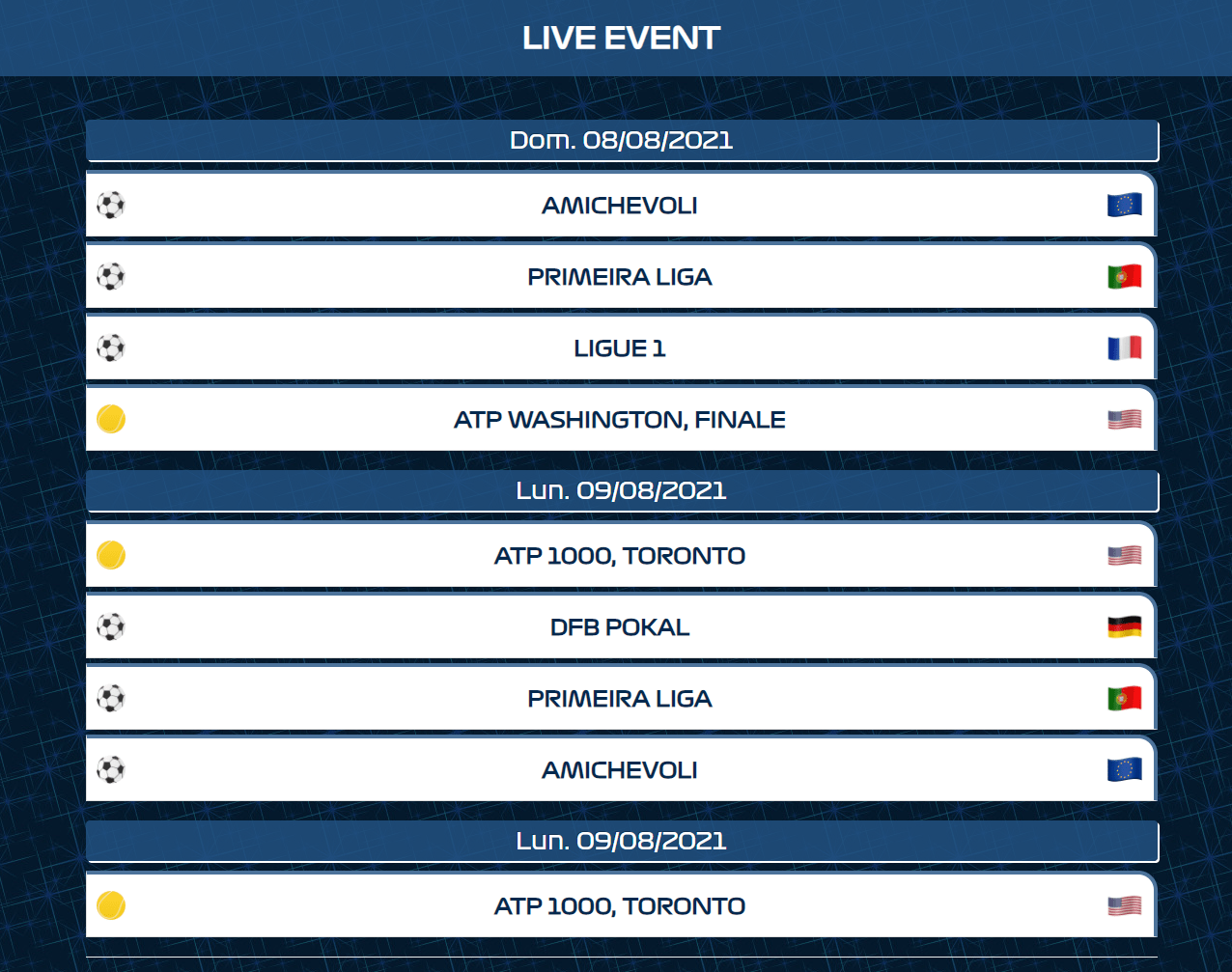 Migliori siti streaming calcio gratis | Ottobre 2021