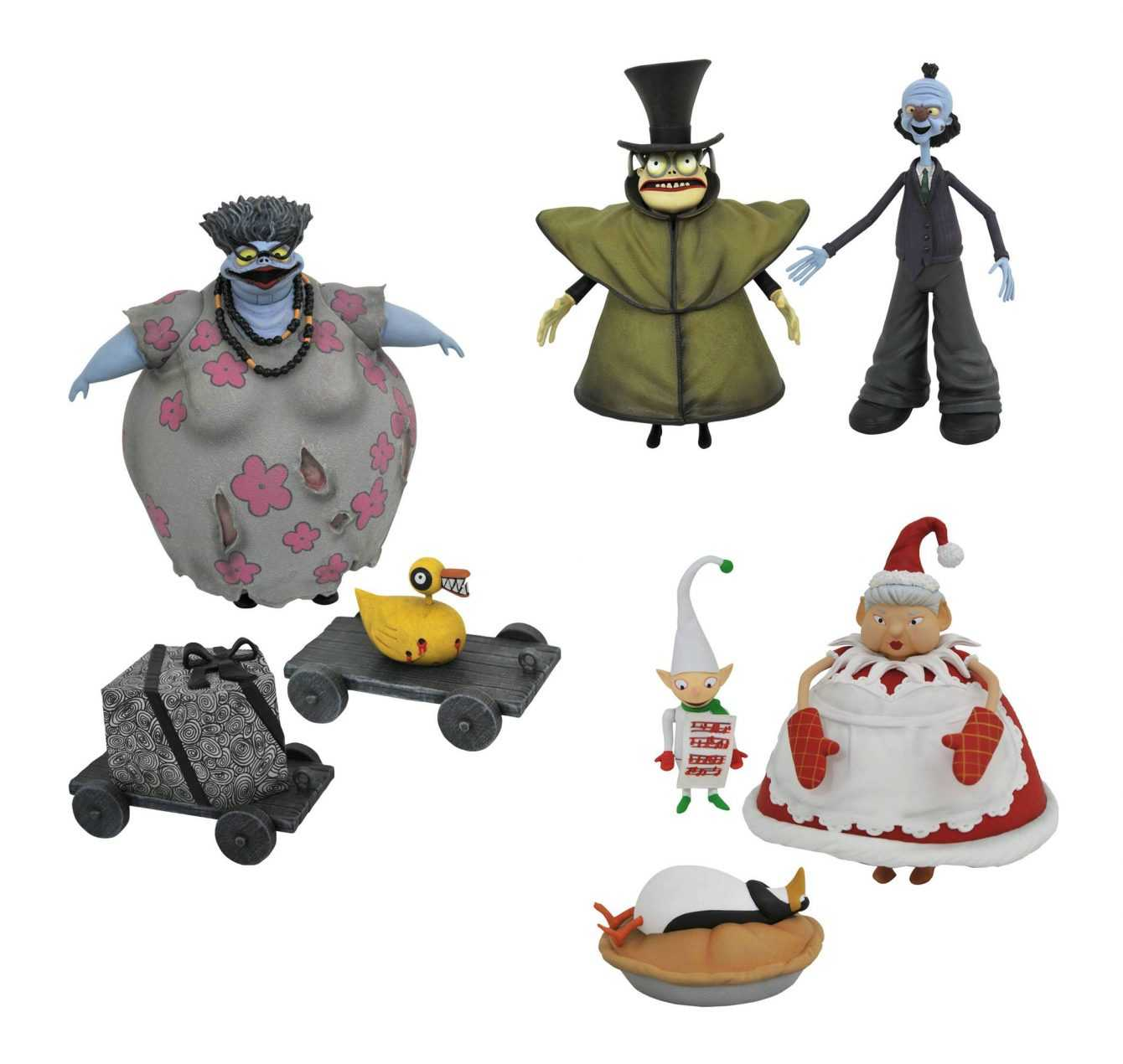 Nightmare Before Christmas: arrivano le nuove action figure!