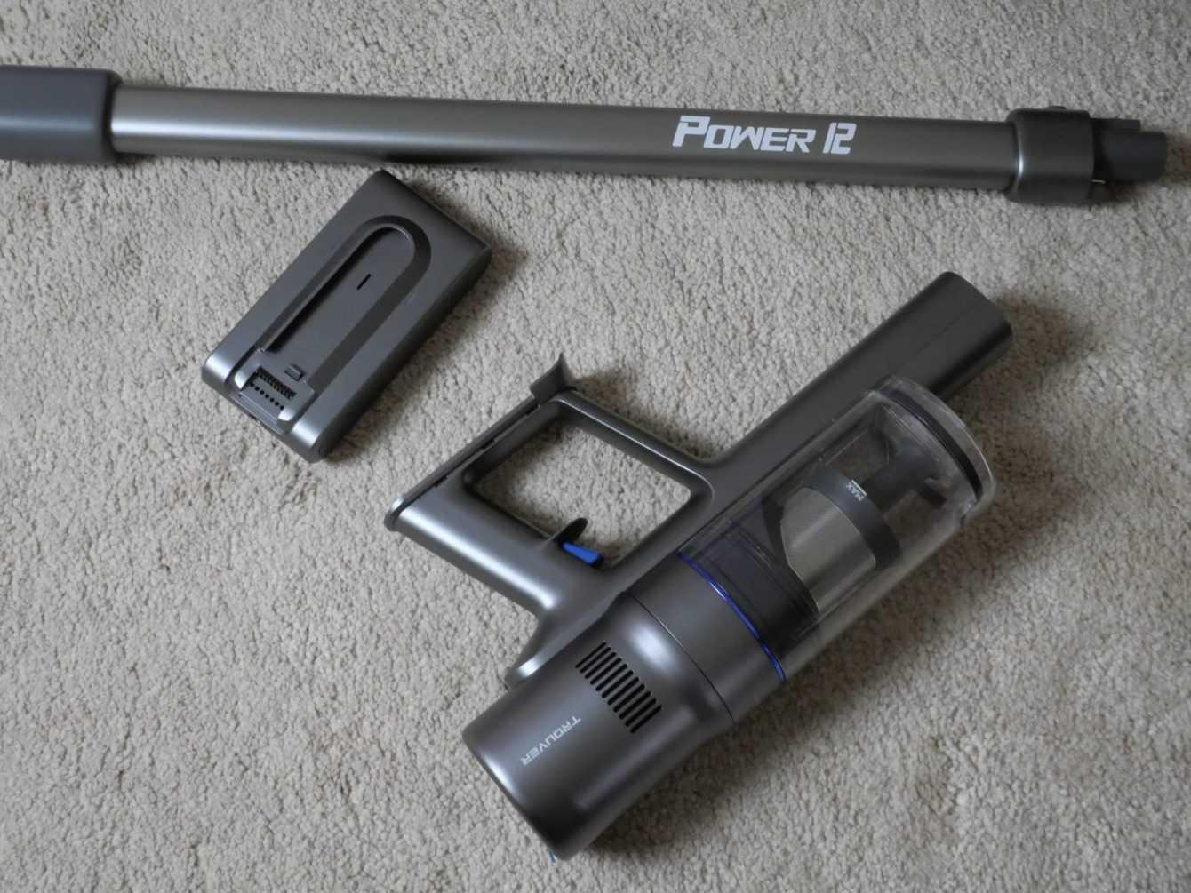 Recensione TROUVER POWER 12: un aspirapolvere leggero e dall'ottimo design