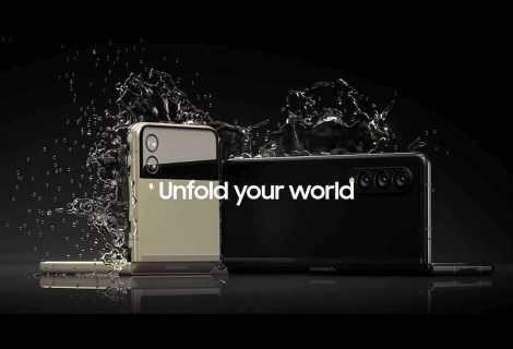 Samsung Galaxy Z Fold 3 5G e Galaxy Z Flip 3 5G: ufficiali