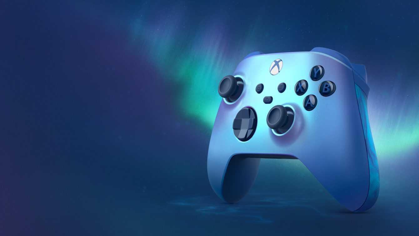 Aqua Shift Special Edition: il nuovo controller di Xbox