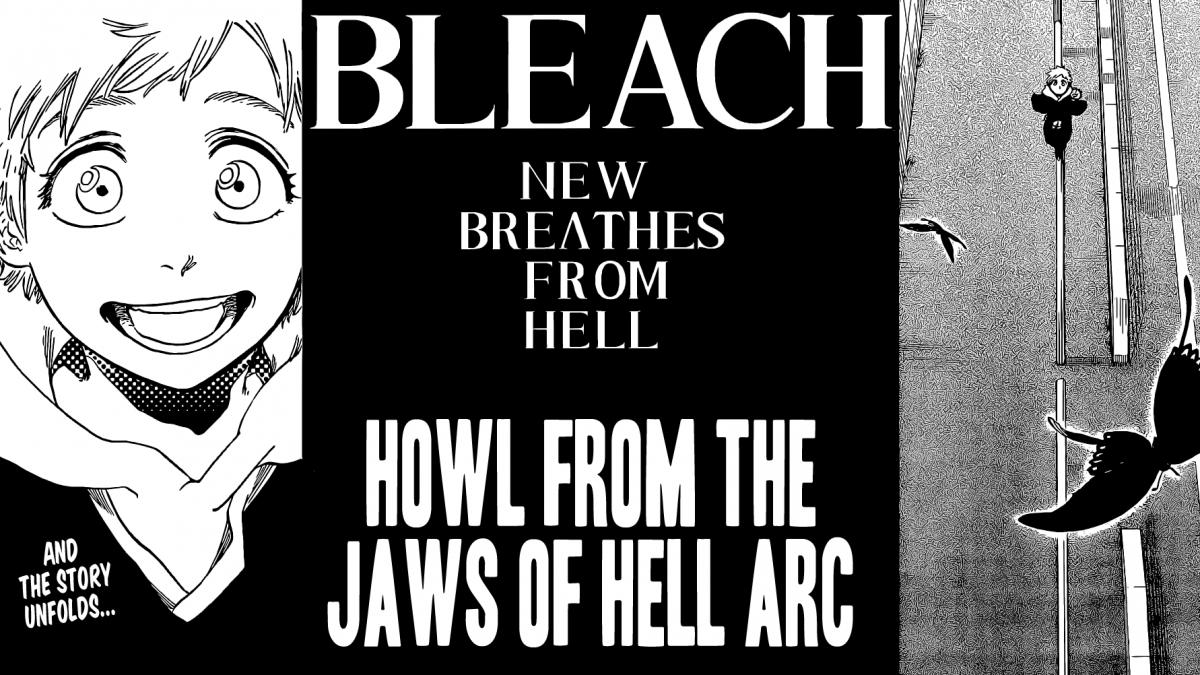 Bleach returns?  The new story arc today on Jump