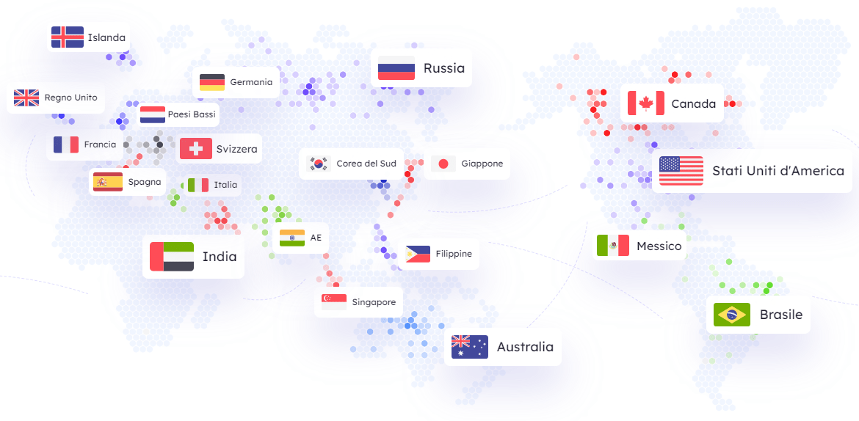 iTop VPN: protezione della privacy e accesso a molteplici server in tutto il mondo
