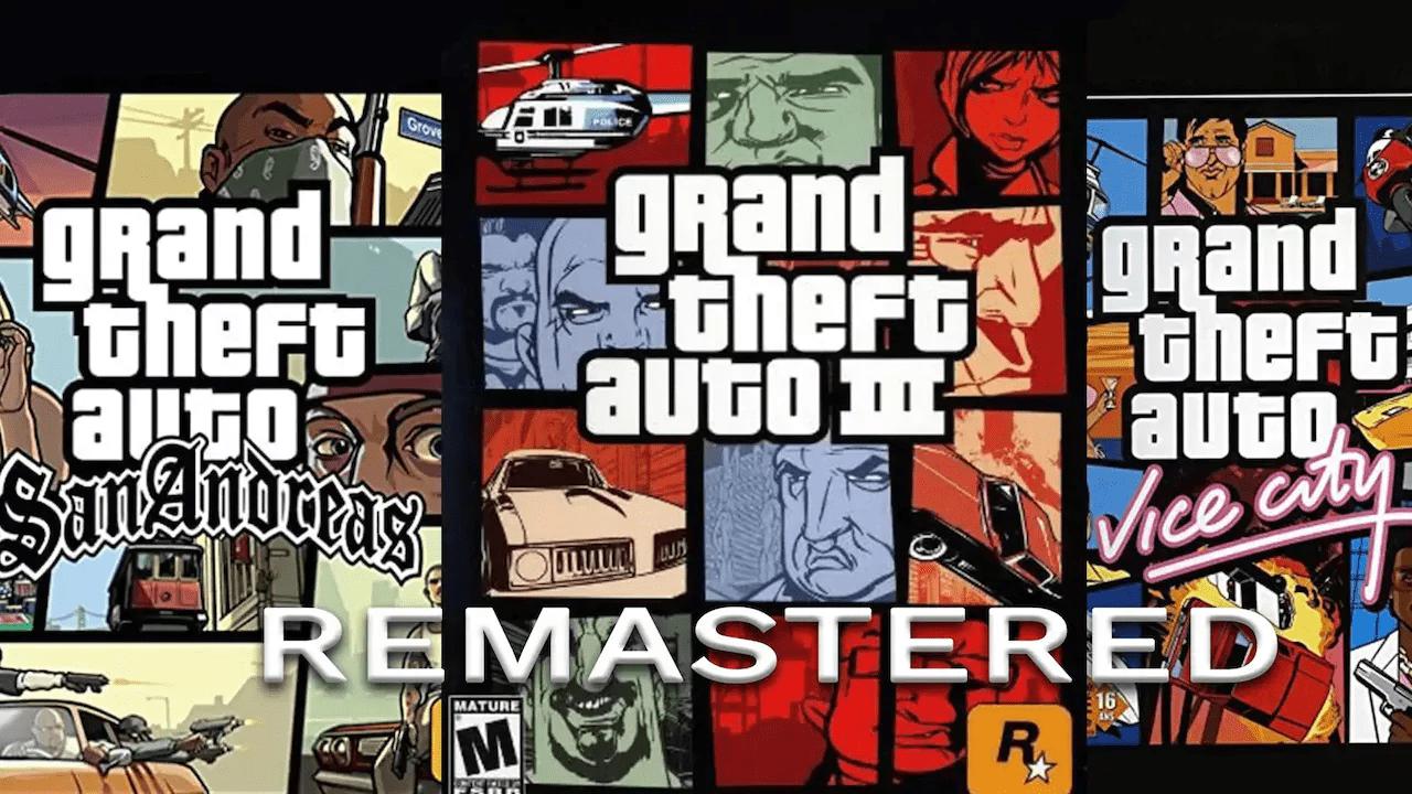 GTA: in arrivo una remastered per il III, Vice City e San Andreas?
